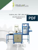 Web Ref Ps-841 Máquina Equipo de Ensayo Triaxial
