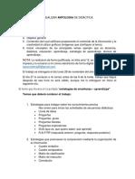 Requisitos Para Realizar Antologia de Didactica