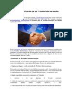 Enmienda y Modificación de Los Tratados Internacionales