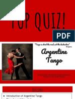 argentine tango presentation