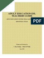 Esl Teachers Guide
