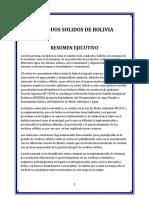 Residuos Solidos de Bolivia Oficial