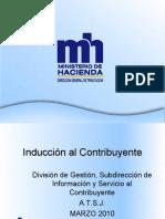 Charla Induccion Al Contribuyente 2010