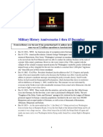 Military History Anniversaries 1201 Thru 121515
