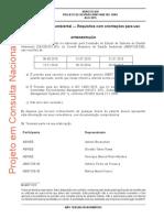 ABNT NBR ISO 14001-2015 - Sistemas de Gestão Ambiental — Requisitos Com Orientações Para Uso - Versão Para Consulta Pública