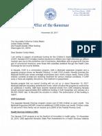Gov. Sandoval letters to congressional delegation re
