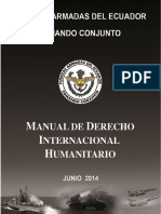 Manual de Derecho Internacional Humanitario, 14jun2014 - Ecuador
