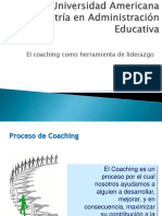 Coaching Como Herramienta de Liderazgo