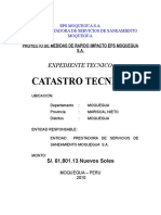 Memoria Descriptiva CATASTRO