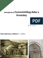 7. Skulptura Humanističkog Doba u Hrvatskoj