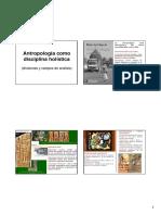 1.Primera Clase Antropologia Como Disciplina Holistica