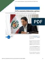 Daniel Salaverry_ 'Si FP No Representa Al Fujimorismo, ¿Qué Hace Kenji Fujimori Aquí_' _ Política _ Peru21