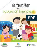 Guía Familiar de Educación Financiera. CONDUSEF
