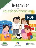 Guía Familiar de Educación Financiera. CONDUSEF
