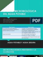 Calidad Microbiologia Del Agua Potable