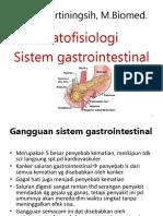 Patofisiologi Sistem Pencernaan Update