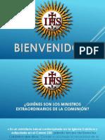 Principios Generales – Ministros Extraordinarios de La Sagrada Comunión