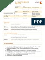 Senior Technology Specialist Success Profile