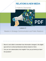 Public Relations and New Media
