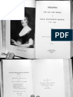 """Philenia; the life and works of Sarah Wentworth Morton, 1759-1846"""
