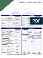 Stool Sample Report