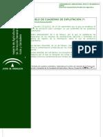 Modelo de Cuaderno de Explotacion
