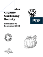 September 2008 Chichester Organic Gardening Society Newsletter