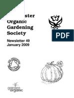January 2009 Chichester Organic Gardening Society Newsletter