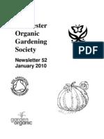 January 2010 Chichester Organic Gardening Society Newsletter