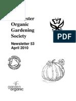 April 2010 Chichester Organic Gardening Society Newsletter