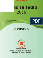 NCRB Report on Crime in India - 2016 PDF