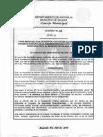 Acuerdo No. 026 de 30 de Noviembre de 2017 Estatuto de Rentas