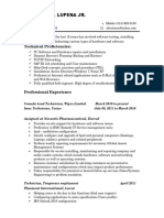 lupena resume updated