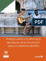 America Latina- 25 años de la aprobación de la convension sobre los derechos del niño