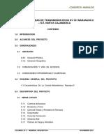 Estudio de Linea de Transmision en 60 Kv Ch Naranjos II - Se Nueva Cajamarca