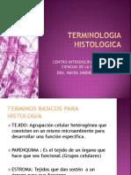 2TERMMMINOLOGIA HISTOLOGICA