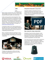 Autumn 2009 Shropshire Master Composters Newsletter