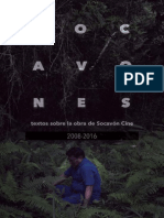 Libro Socavones _ Textos Sobre La Obra de Socavón Cine 2008 2016 _ Marzo 2017