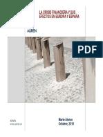 La Crisis Financiera y Sus Efectos en Europa y Espana 2