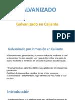GALVANIZADO - CAPACITACION
