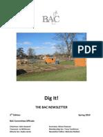 Spring 2010 Dig It Newsletter