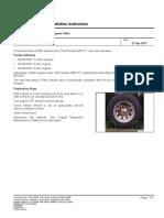 4908439 Lubricating Oil Filter Bypass Valve