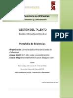 Gestion Del Talento Portafolio de Evidencias (1)