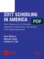 2017 Schooling in America by Paul DiPerna Michael Shaw and Andrew D Catt