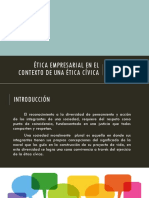 Ciudadanía Semana 6 Etica Civica