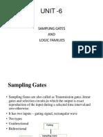 Sampling Gates