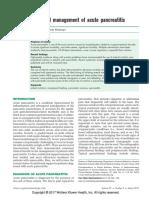 Nutrición en Pancreatitis