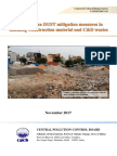 Dust Mitigation in C&D Waste-Guidelines-CPCB-24.11.2017