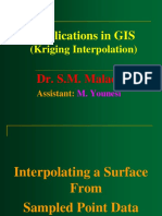 Kriging Interpolation