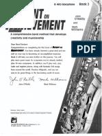 Accent on Achievement Book 2 - Alto Sax